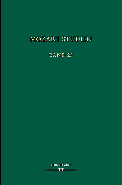 Cover Mozart Studien Band 25