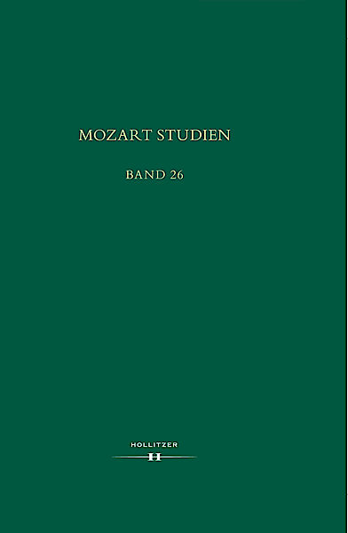 Cover Mozart Studien Band 26