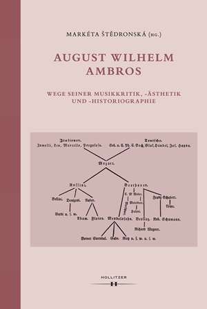 Cover August Wilhelm Ambros