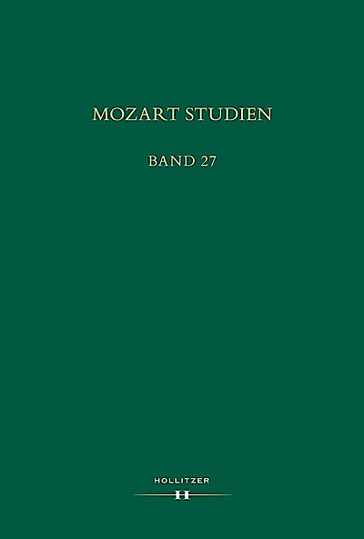 Cover Mozart Studien Band 27