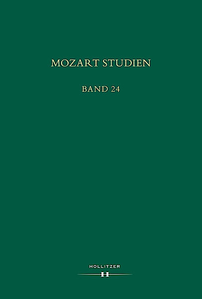 Cover Mozart Studien Band 24